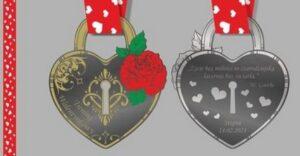 medal walentynkowy