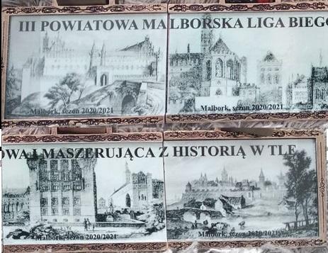 medale ligi malborskiej