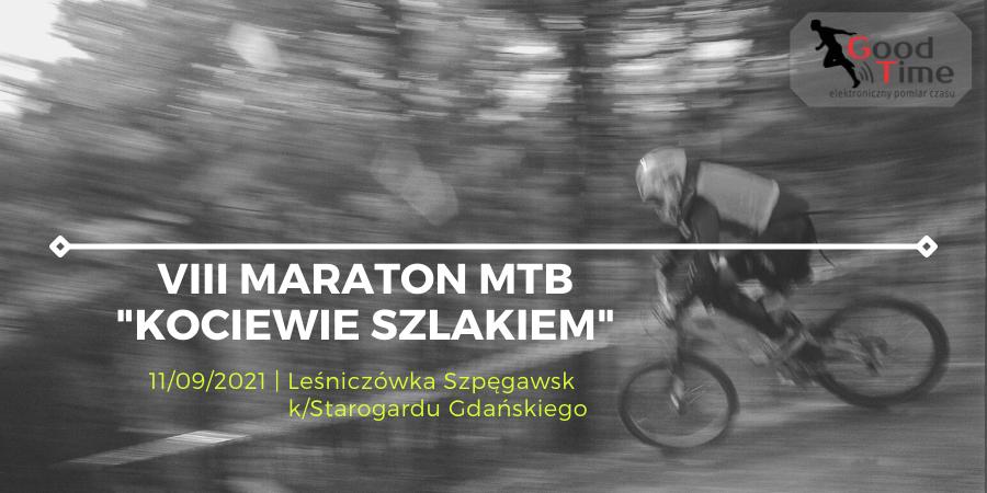 wyścigi rowerowe, VIII Maraton MTB Leśniczówka Szpęgawsk Kocieiwie Szlakiem Pomiar czasu good time