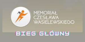 Biegi VII memoriał Czesława Wasilewskiego